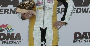 Greg Melka of Pro Flow technologies takes the 2012 heavy weight Supersport national title at Daytona International Speedway